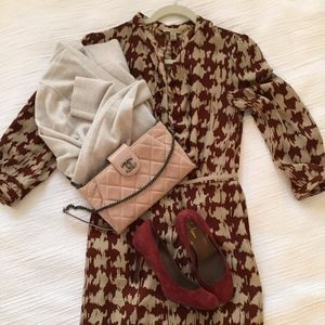 Burberry Brit Houndstooth Dress